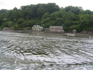 Medieval cottage river dart