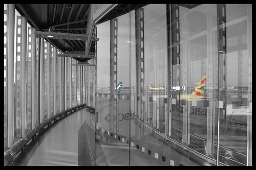 Terminal two corridor