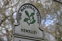 Hembury wood trust sign
