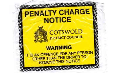 Cotswold traffic ticket