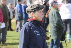 Meg at races