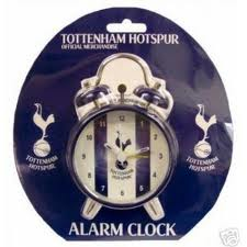 Tottenham hot spurs alarm clock