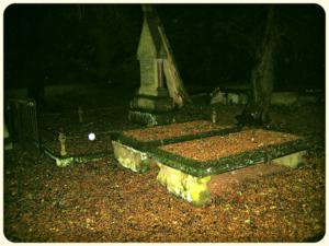 Pirate graveyard night