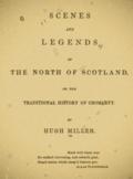 Hugh Miller book
